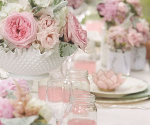 pink and lovely image