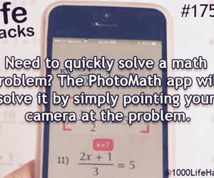 math and life hacks image