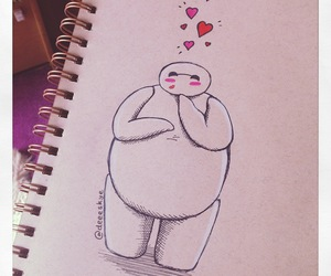 baymax, disney, and big hero 6 image