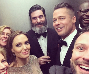 Angelina Jolie, oscar, and selfie image