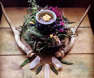 crystal, magic, and tea image