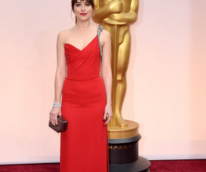 dakota johnson, oscar, and red carpet image