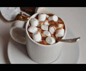 coffe, food, and malvaviscos image