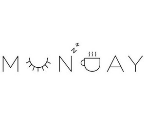coffee, eye, and monday image