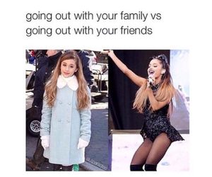 ariana grande, funny, and friends image