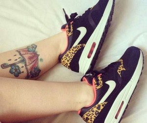 leopard, lovely, and nike image