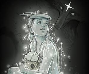 Chiara Bautista, stars, and art image