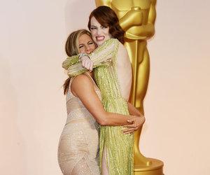 emma stone, oscar, and Jennifer Aniston image
