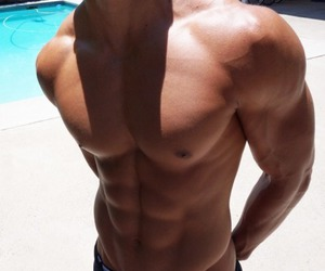 abs, beautiful, and boy image