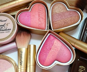 heart, makeup, and love image