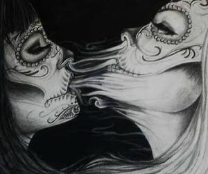 art, latina, and muerte image