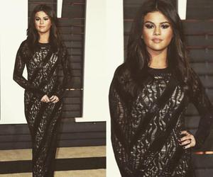 selena gomez, oscar, and dress image