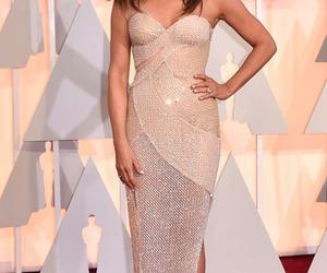 amazing, dress, and Jennifer Aniston image