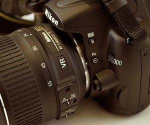 camera, nikon, and nikon d5000 image