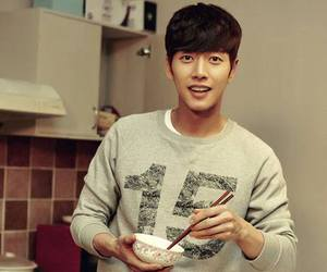 chinese new year, cooking, and korean actor image