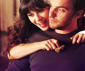 new girl, jessica day, and nick miller image