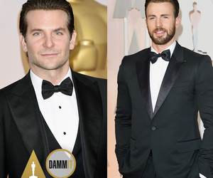chris evans, oscars, and bradley cooper image
