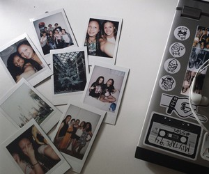 fashion, grunge, and polaroids image