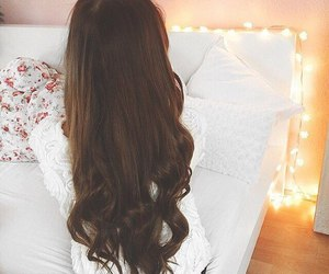 hair, pretty, and love image