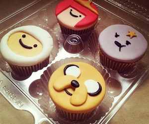 adventure time, cupcake, and food image