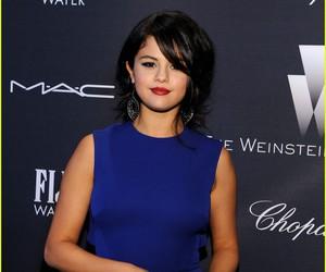 actress, blue, and dress image