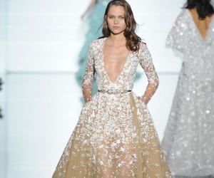 fashion, Zuhair Murad, and dress image