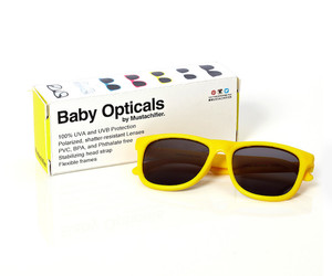 babies, baby, and sunglasses image