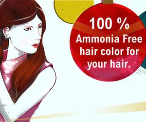 hair color and ammonia free image