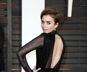 lily collins, beautiful, and collins image