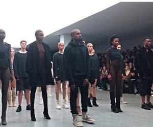 black, fashion, and kanye west image