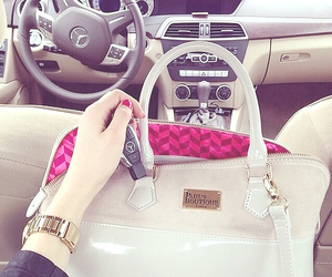 car, bag, and luxury image
