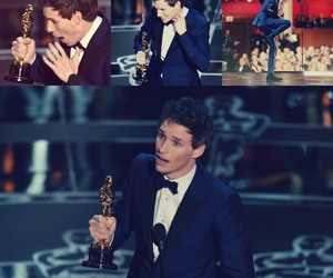 eddie redmayne, funny, and best actor image