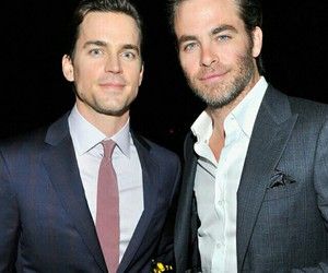 chris pine, matt bomer, and sexy image