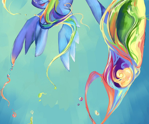 colorful, my little pony, and ponei image