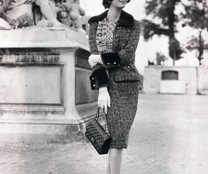 chanel and vintage image