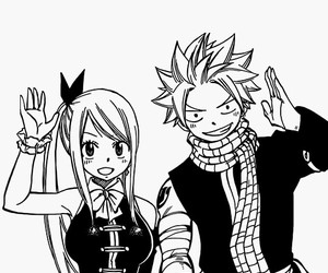 nalu, fairy tail, and Lucy image