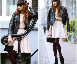 booties, style, and pink dress image