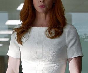 donna, suits, and amazing secretary image