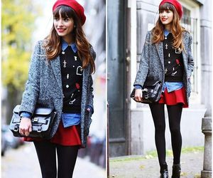 girl, fashion, and styles image