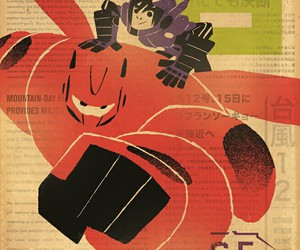 disney, hiro, and big hero 6 image