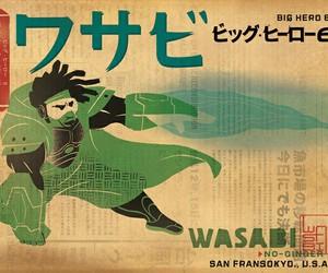 disney, wasabi, and big hero 6 image