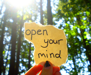 mind, open, and text image