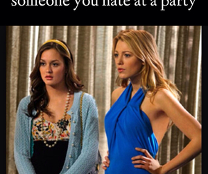 blair waldorf, blake lively, and friend image