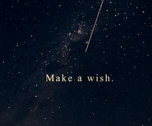 wish, stars, and sky image
