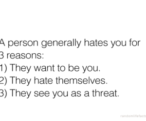 quote, hate, and haters image