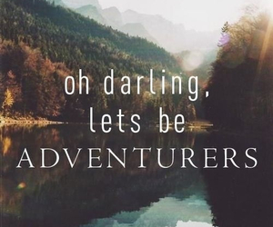 adventure, leaves, and lovely image