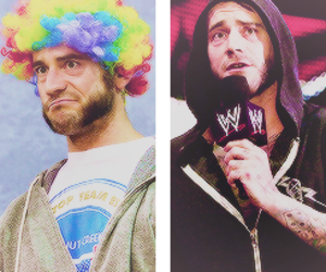 wwe, cm punk, and the best in the world image