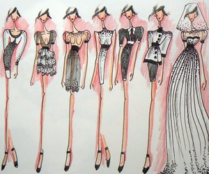 design, dress, and fashion image