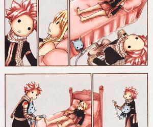 anime, couple, and lucy heartfilia image