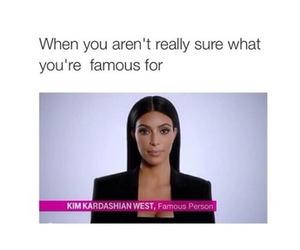 funny, kim kardashian, and lol image